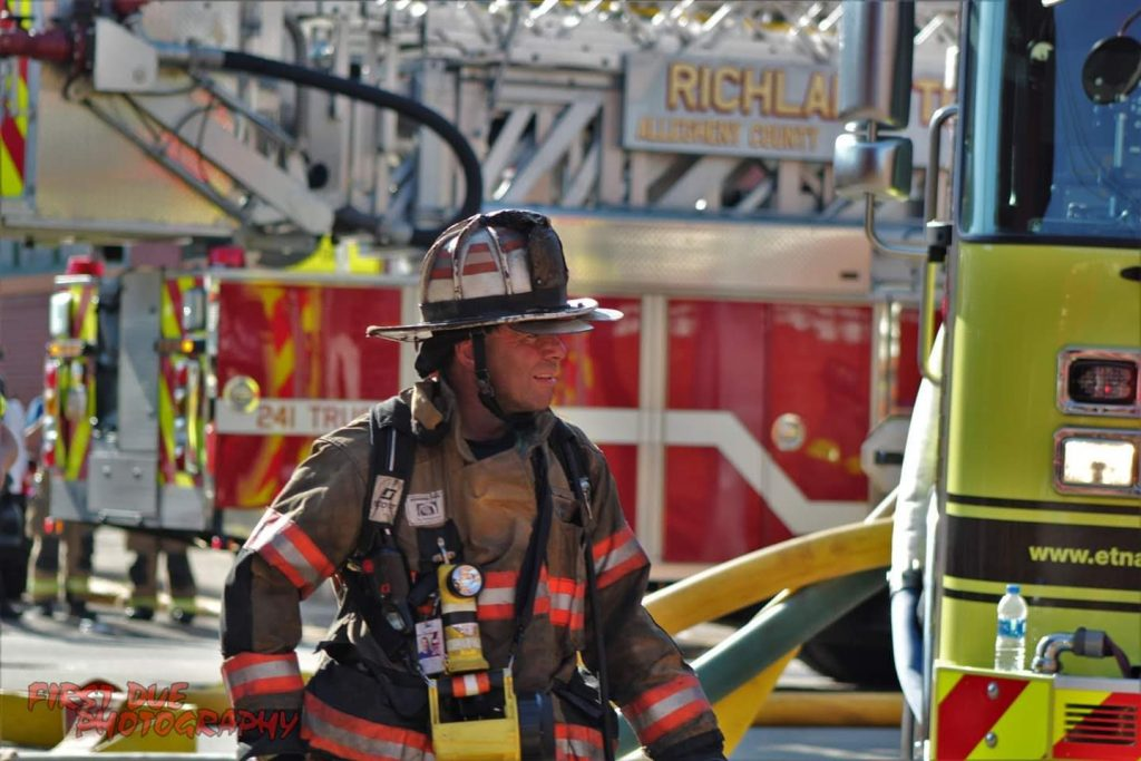 Aspinwall VFD Fights 7-Alarm Commercial Structure Fire in Etna, PA